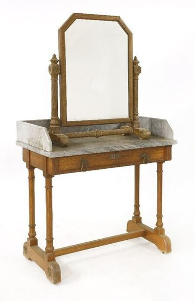 Gillows of Lancaster, 'An oak washstand'
