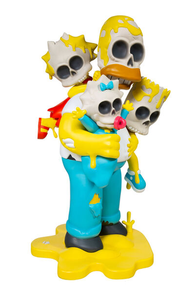 Matt Gondek, 'SIMPSONS NUCLEAR FAMILY (4FT STATUE)', 2018