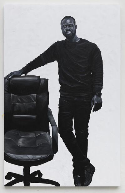 Otis Kwame Kye Quaicoe, 'Portrait of Albert Sowah Anan', 2019