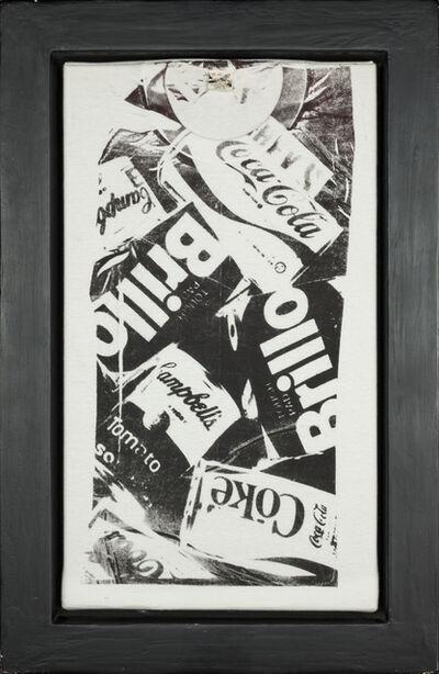 Andy Warhol, 'T-shirt Coke/Brillo - Black', 1980