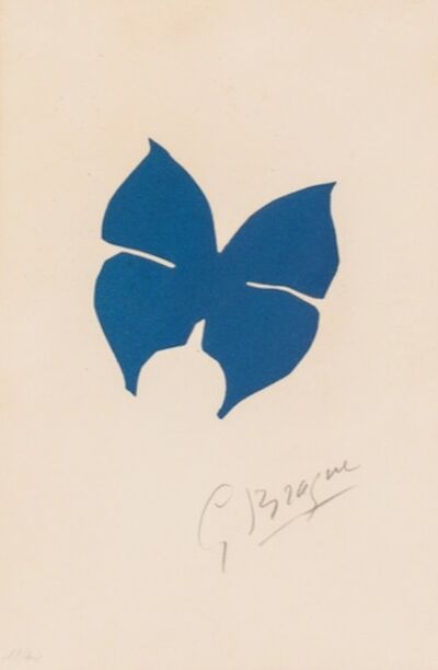 Georges Braque, 'Le Papillon ', 1957
