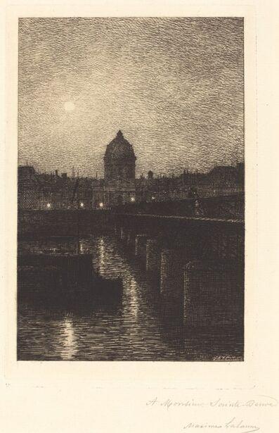 Maxime Lalanne, 'Pont des Arts', 1868