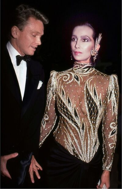 Rose Hartman, 'Cher and Bob Mackie at Met Gala, 1985', 1985