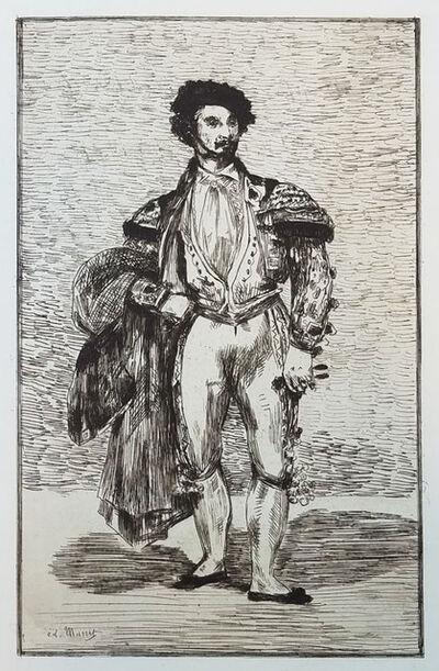 Édouard Manet, 'Le Baïlarin (Don Mariano Camprubi) - The Ballet Dancer', 1863