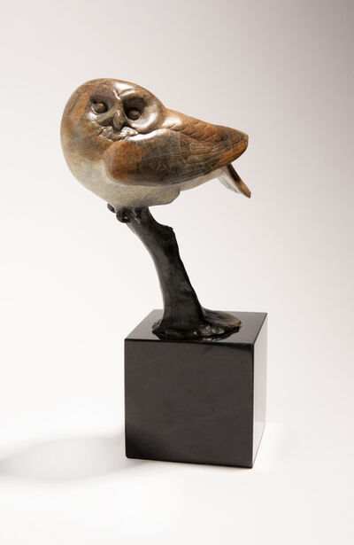 Tony Angell, 'Saw Whet Owl', 2020