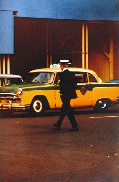 Saul Leiter, 'Man in Straw Hat', 1955