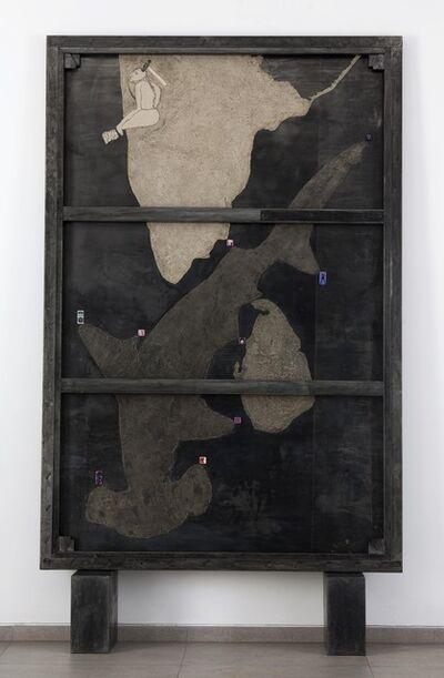 Atul Dodiya, 'Hammerhead & Butterflies', 2010