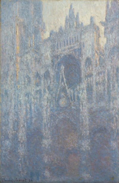 Claude Monet, 'The Portal of Rouen Cathedral in Morning Light', 1894