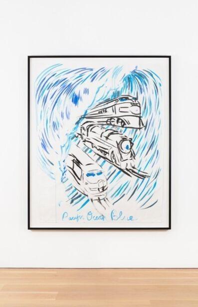 Raymond Pettibon, 'No Title (Pacific ocean blue)', 2010
