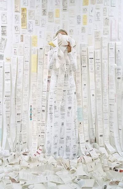Rachel Perry, 'Lost in My Life (Receipts)', 2011