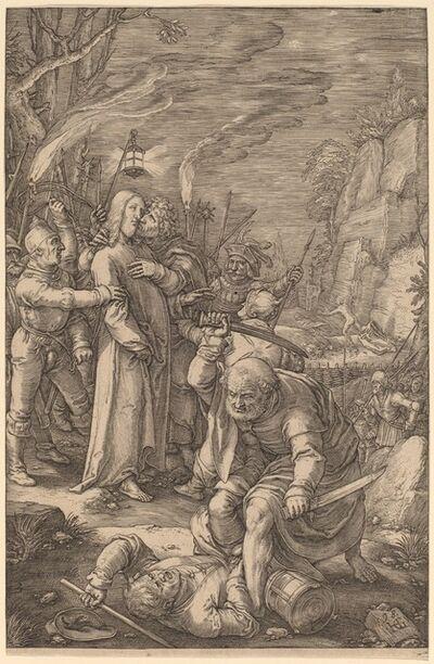 Hendrik Goltzius, 'Christ Taken Captive', 1598