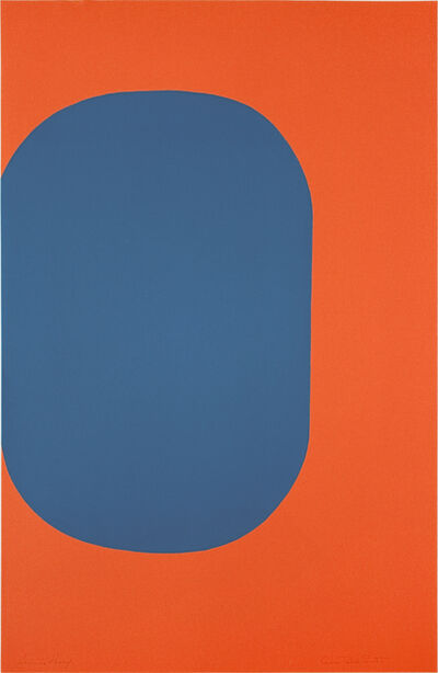 Leon Polk Smith, 'UNTITLED (TAMARIND D)', 1968