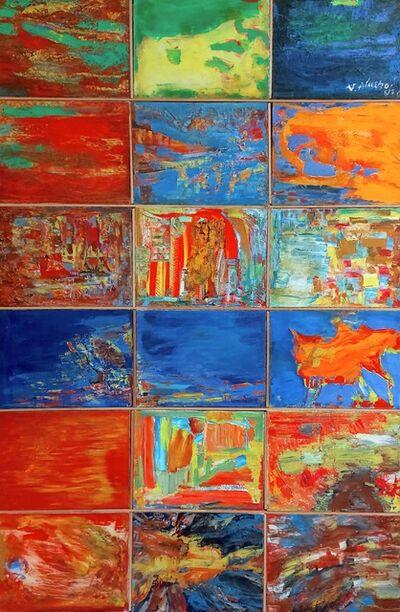 Vulnet Alushaj, 'Untitled (18 panels)', 2008