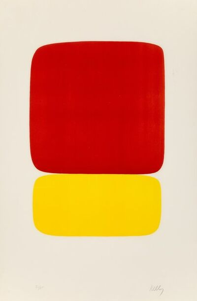Ellsworth Kelly, 'Red over Yellow (Rouge sur Jaune), from the Suite of Twenty-Seven Color Lithographs', 1964-1965