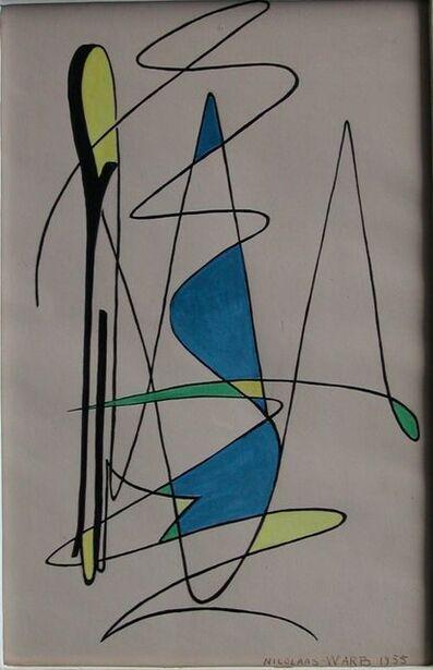 """Nicolaas Warb, '""""Rêve éveillé""""', 1955"""