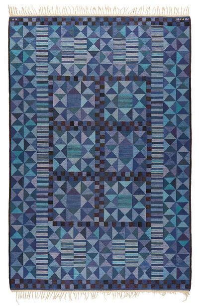 "Marianne Richter, '""Rubirosa, blå"" rug', designed 1958-executed 1963"