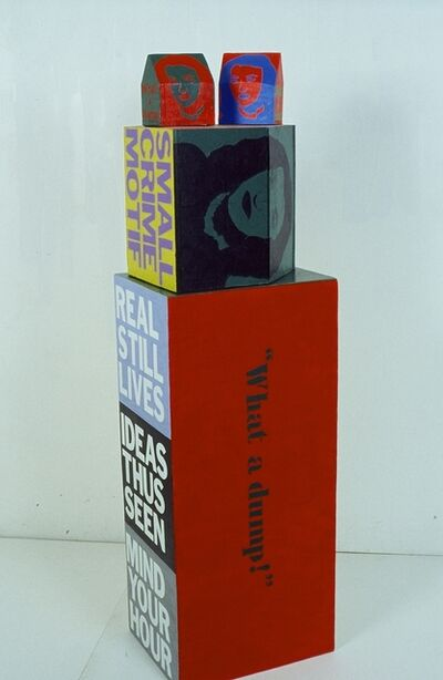 Roland Bernier, 'What a Dump-Orange/Blue/Red', 2012