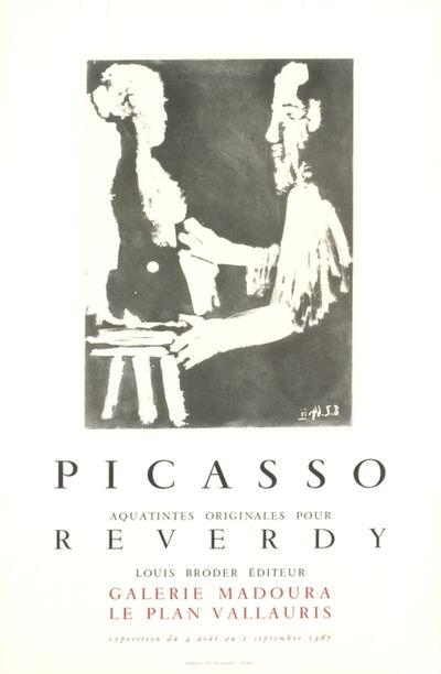 Pablo Picasso, 'Reverdy', 1967