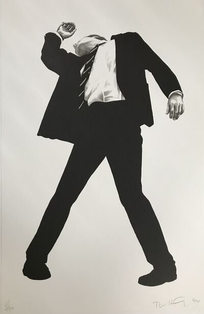 Robert Longo, 'Rick from Men in the Cities', 1994