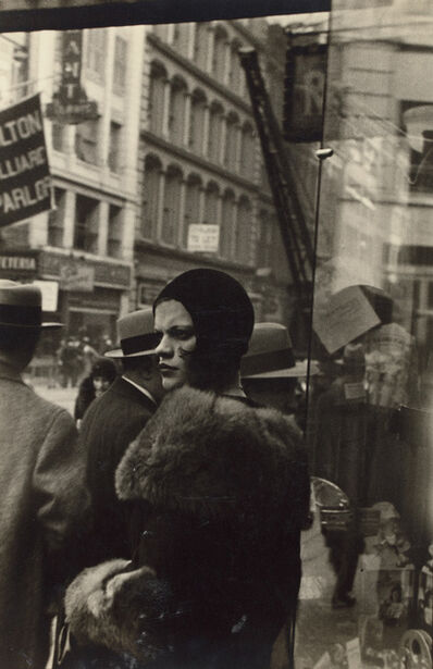 Walker Evans, 'Girl in Fulton Street, New York', 1929