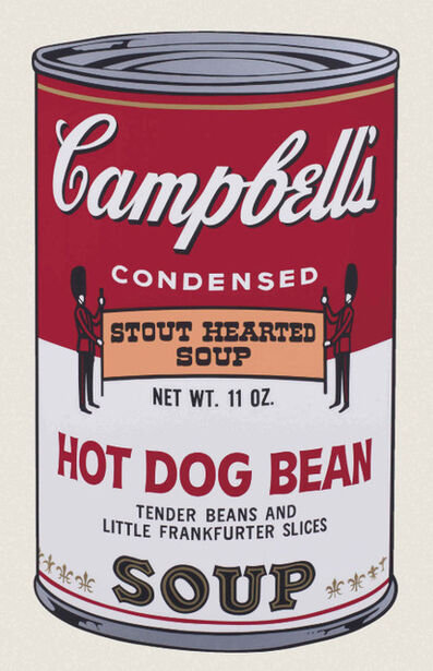 Andy Warhol, 'Hot Dog Bean', 1969