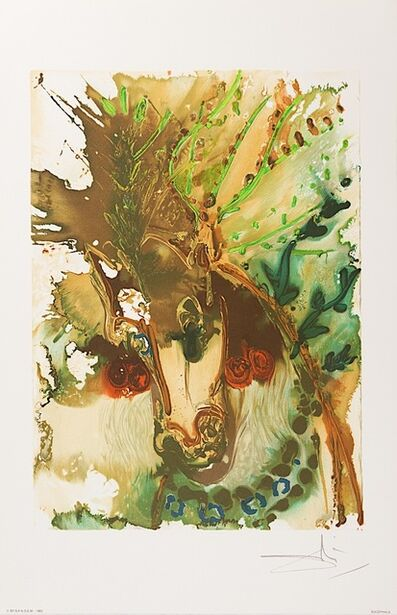 Salvador Dalí, 'Bucéphale', 1983