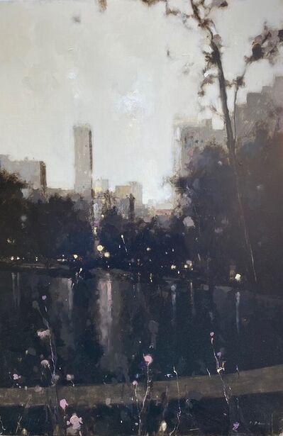 Geoffrey Johnson, 'Study Central Park Lake Evening ', 2020