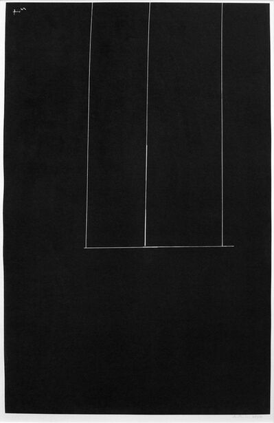 Robert Motherwell, 'Untitled-Black', 1971