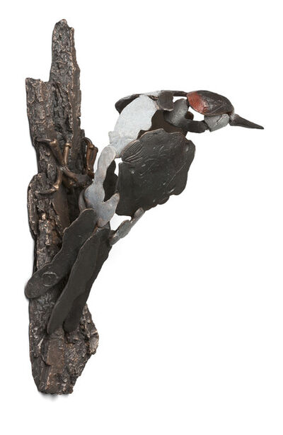 Jozephine Wortelboer, 'Great spotted woodpecker', 2018
