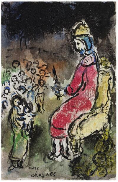 Marc Chagall, 'Le Roi David', 1979