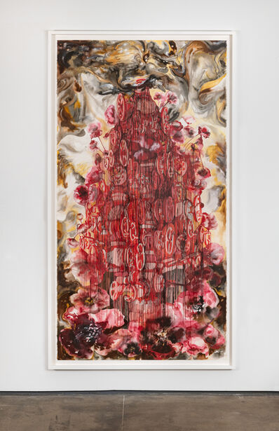 Shahzia Sikander, 'Oil and Poppies', 2019-2020