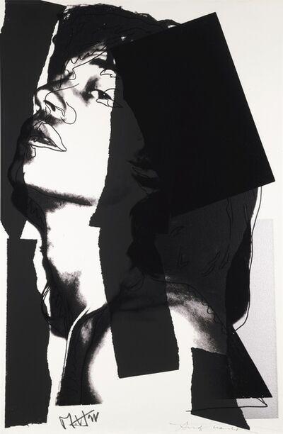 Andy Warhol, 'Mick Jagger F&S II.144', 1975
