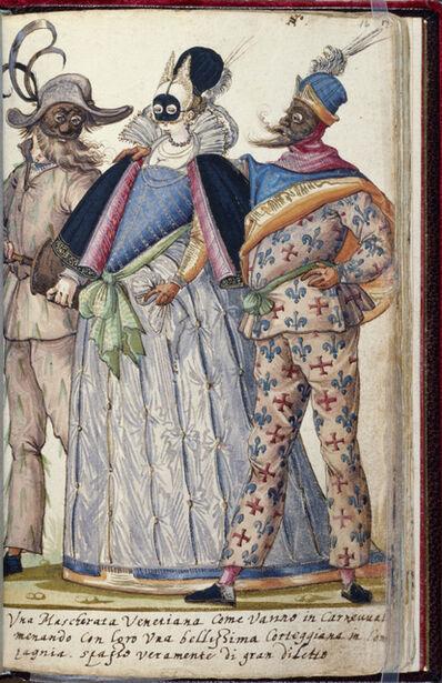 Niclauss Kippell, 'Venetian Revellers', ca. 1588
