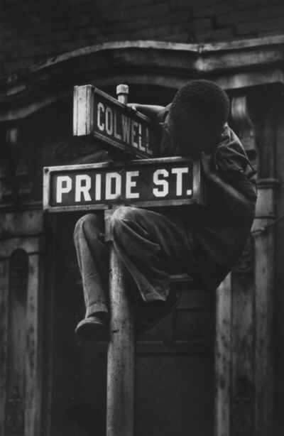 W. Eugene Smith, 'Pride Street, from Pittsburgh', 1955