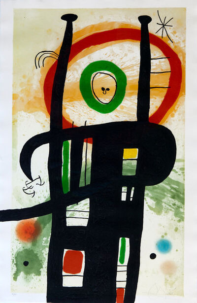 Joan Miró, 'Le Grand Ordinateur', 1969