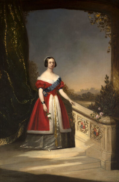 Solomon Alexander Hart, 'Portrait of Queen Victoria', 1842