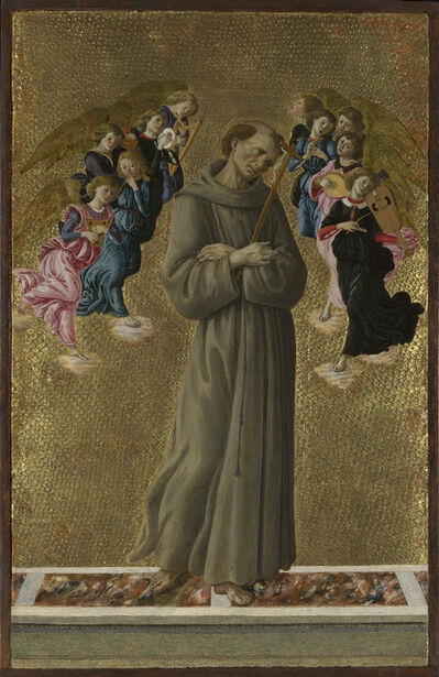 Sandro Botticelli, 'Saint Francis of Assisi with Angels', about 1475-80