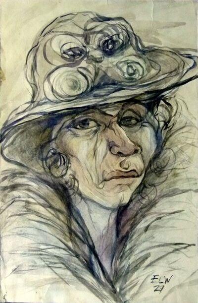 Elfriede Lohse-Wächtler, 'Female portrait', ca. 1929