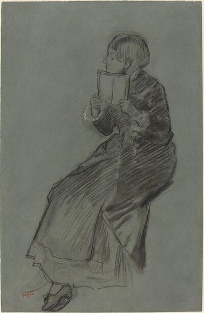 Edgar Degas, 'Woman Reading a Book', ca. 1879