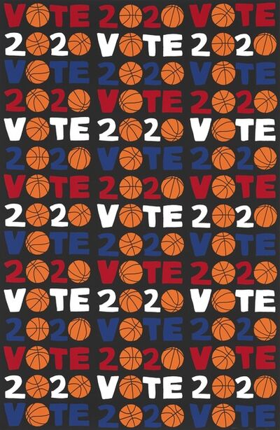 Jonas Wood, 'VOTE 2020', 2020