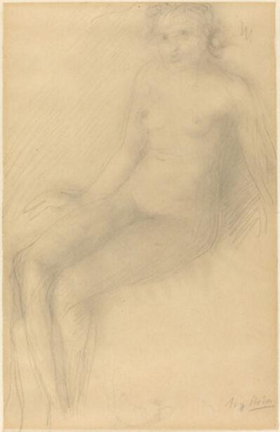 Auguste Rodin, 'Seated Female Nude'