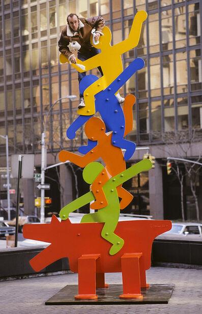Lynn Goldsmith, 'Keith Haring (1986)', 1986
