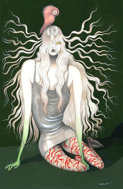 Laura Laine, 'Static Hair', 2021