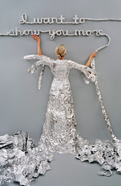 Rachel Perry, 'Lost in My Life (Tin Foil) ', 2012