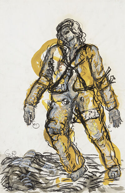 Georg Baselitz, 'A New Type', 1965