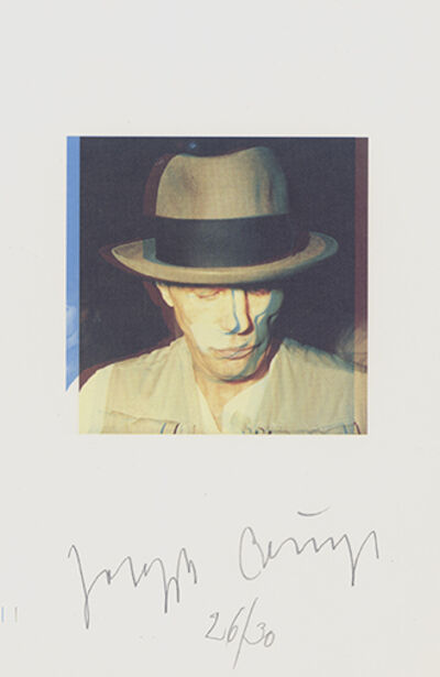 Joseph Beuys, 'Self-Portrait', Kassel 1976