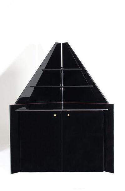 Luigi Caccia Dominioni, 'Corner cupboard Mantova UNO/DUE', ca. 1980