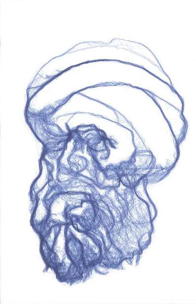 "Rafael Lozano-Hemmer, 'Seismoscope 2: Abu Hamid Muhammad ibn Muhammad al-Ghazali., Persian (1058-1111), author of ""The Incoherence of Philosophers""', 2009"
