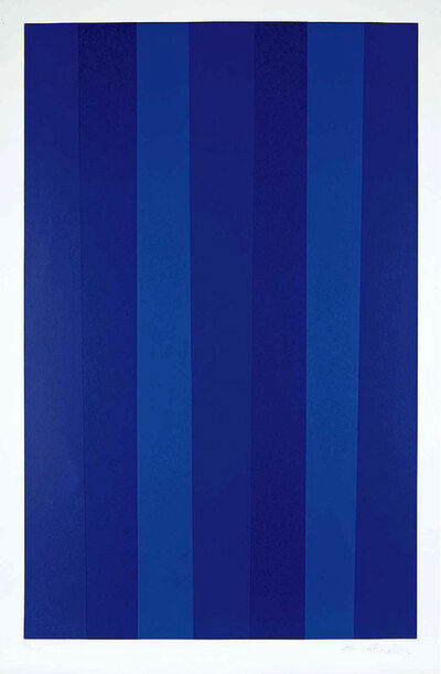 Guido Molinari, 'Blue Quantifier (Ed. 27 of 40)', 1992