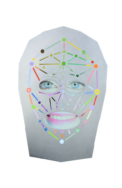 Tony Oursler, 'c_Ux', 2016